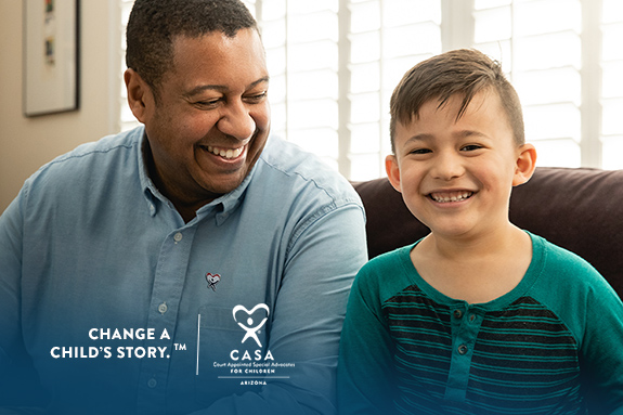 Change a Child's Story. Become a CASA Advocate.